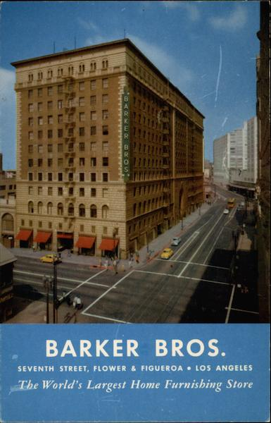 Barker Bros Los Angeles California