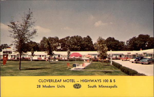Cloverleaf Motel South Minneapolis Minnesota