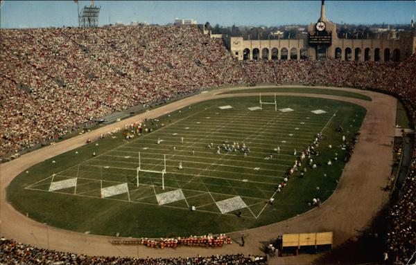 The Los Angeles Memorial Coliseum California