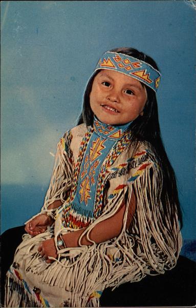 Apache Girl Native Americana