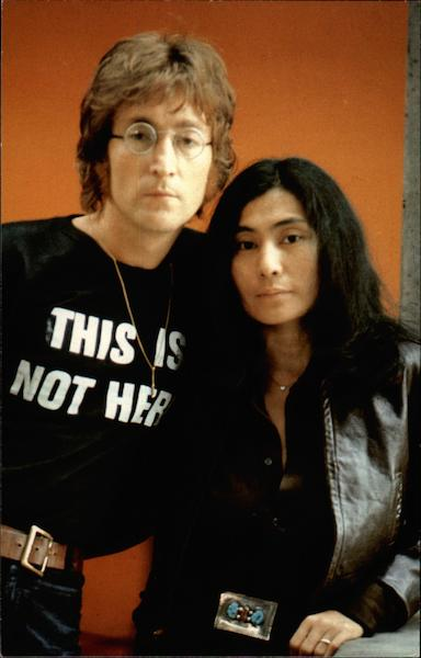 John Lennon and Yoko Ono Celebrities