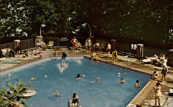 Pool at Village Inn Kentucky Dam Village State Park Gilbertsville