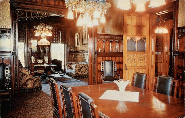 Dining Room In Asa Packer Mansion Jim Thorpe Pa