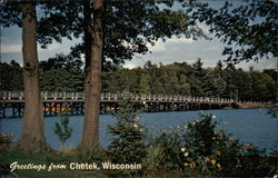 Greetings from Chetek, Wisconsin