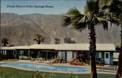 Dinah Shore's Palm Springs Home