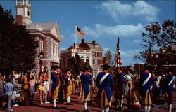 Liberty Square Fife and Drum Corps Postcard