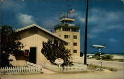 Post office, tower and C-54 - Johnston Atoll