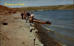 Fishing at Oahe