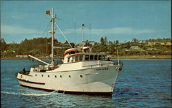 R. V. Cayuse at Marine Science Center - Oregon State University