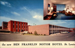 The new Ben Franklin Motor Hotel St. Louis