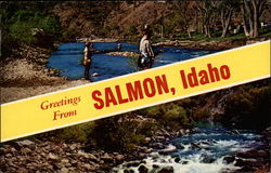 Greetings from Salmon, Idaho
