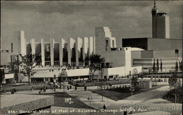 General View of Hall of Science, Chicago World's Fair Illinois