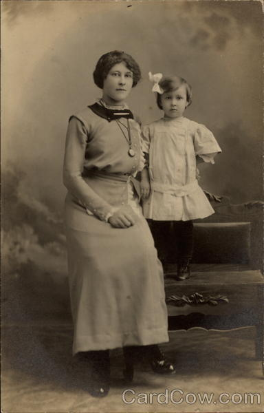 Photograph of Mother and Child Women
