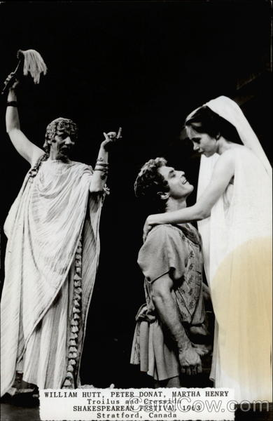 Advertisement for Shakespearean Festival 1963 Theatre