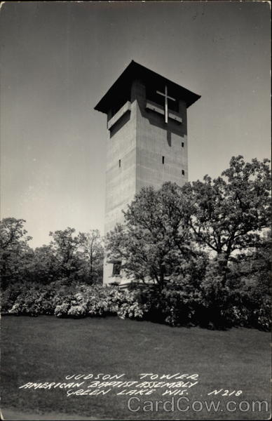 Judson Tower American Baptist Assembly Green Lake Wisconsin