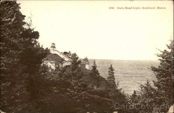 5796 - Owls Head Light Rockland Maine