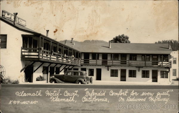 Klamath Hotel-Court: Splendid Comfort for Every Guest California