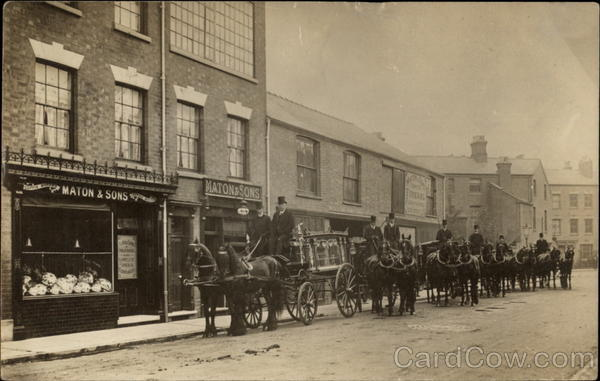 Maton & Sons Funeral Directors Horse-Drawn Hearses Coventry UK