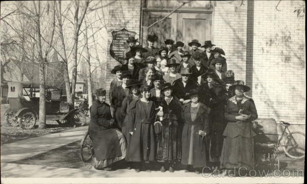 1921 Christian Church and Bible Class Women