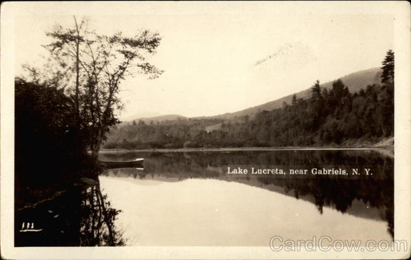 Lake Lucreta Gabriels New York