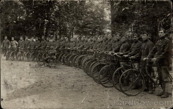 German WWI bicycle infantry? World War I Bicycles