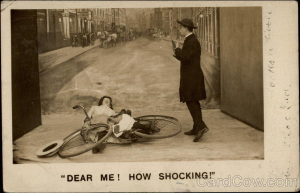 Dear Me! How Shocking! Bicycles