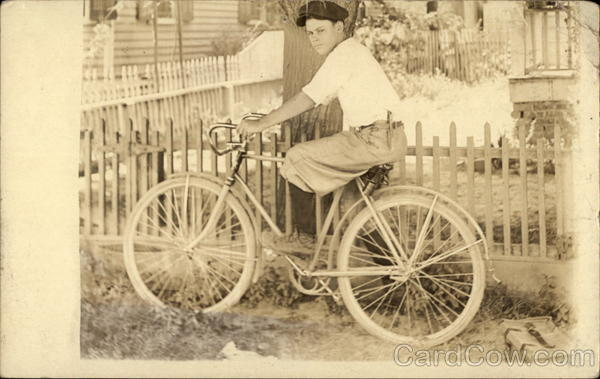 Boy on Bicycle Bicycles
