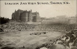 Stadium and High School