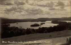 Blue Mountain Lake from Blue Mountain House Postcard