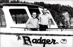 Two Men Aboard The Badger