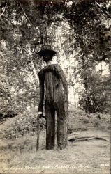 The Cedar Wooden Man