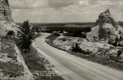 Looking from Cedar Pass, Badland National Park, S. Dak