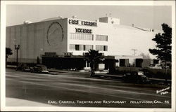 Earl Carroll Theatre and Restaurant