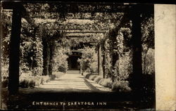 Entrance to Saratoga Inn