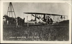 Wright Brothers First Plane