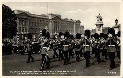 Guards' Band Returning from Buckingham Palace