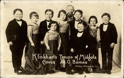 Klinkhart's Troupe of Midgets Circus; A.G. Barnes