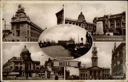 Scenes from the city of Hull Postcard