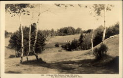 11th and 12th Fairway from 12th Green of Toy Town Tavern Postcard