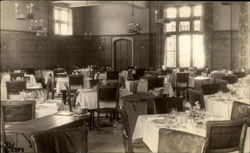 Main Dining room of the Sanatorium of the Christian Science Benevolent Association