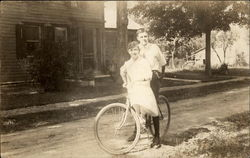 A Couple on a Bike