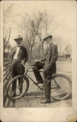 Two Gents and a Bike