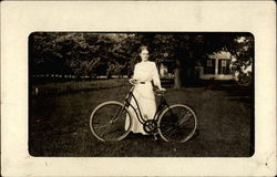 A Woman and Her Bicycle