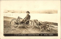 C.W. Warren Dogcart Washington to New York