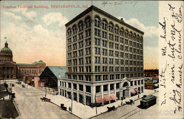 Traction Terminal Building Indianapolis