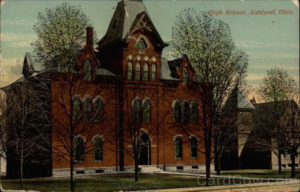 High School Ashland Ohio