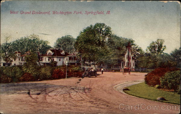 West Grand Boulevard, Washington Park Springfield Illinois