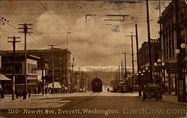 Hewitt Ave Everett Washington