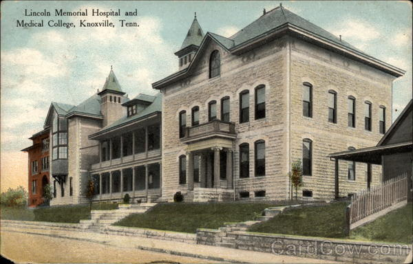 Lincoln Memorial Hospital and Medical College Knoxville Tennessee