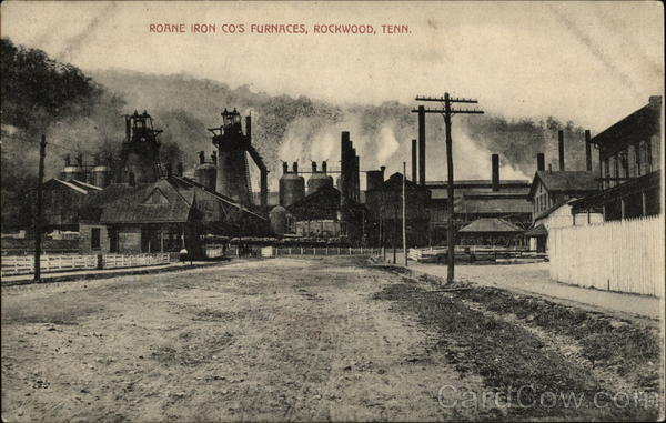 Roane Iron Co's Furnaces Rockwood Tennessee